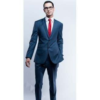 Chaslay Navy Blue Suit