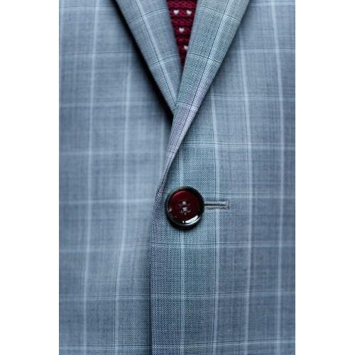 Matvala Silver Grey Suit