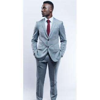 Matvala Silver Grey Suit