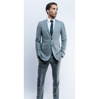 Montround Silver Grey Suit